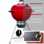 Weber MASTER-TOUCH® GBS 57 cm RED Limited edition + dárek